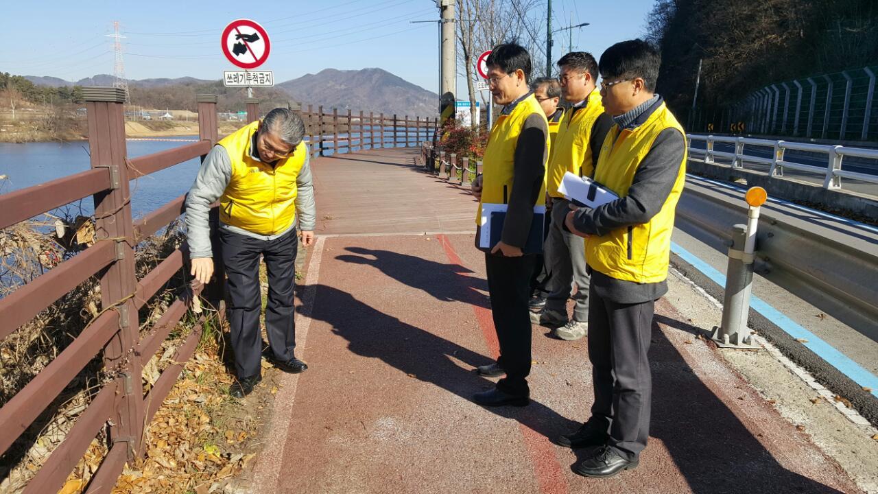 대덕구, 12월'안전점검의 날'맞이 취약시설 안전점검 실시 이미지